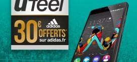 [BON PLAN] 30€ offert sur Adidas.fr pour l'achat d'un Wiko Ufeel