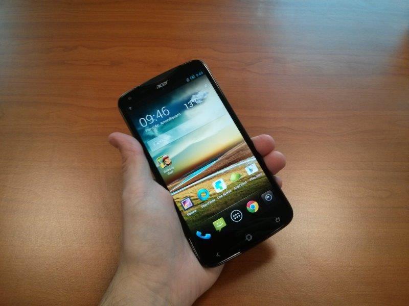 Acer Liquid S2 : prise en main et premières sensations