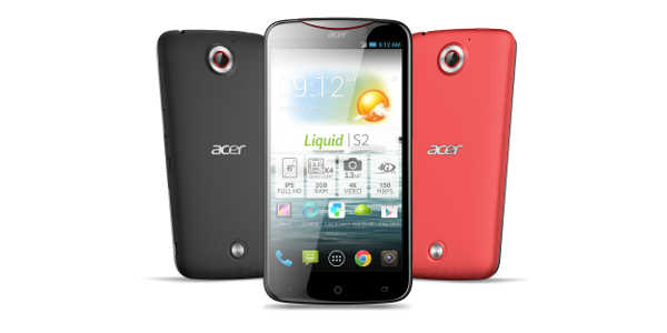 Acer Liquid S2 : officialisation