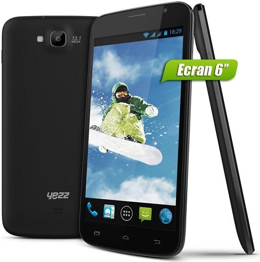 Yezz Andy A4M, A4.5, A5 et A6M : Les mobiles vendus par Internity