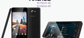 Archos 45 et 50 Helium : vitesse 4G