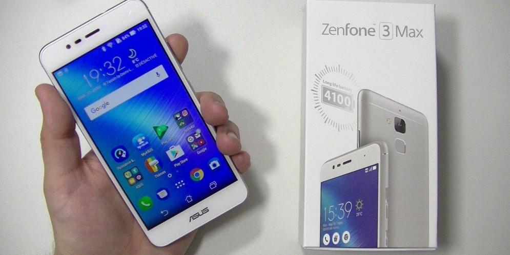 Test de l'Asus Zenfone 3 Max (ZC520TL) : grosse batterie à bon prix