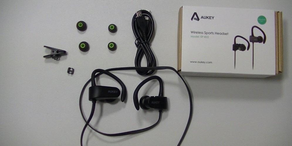 Test de l'Aukey Wireless Sports Headsets(EP-B22) : casque sans-fil pour sportif