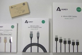 Aukey : une panoplie complète de câbles pour la charge et la synchro