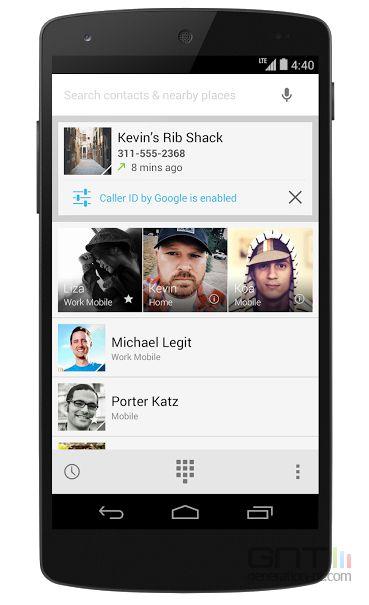 Caller ID : L'avatar de Google+ associé à votre numéro