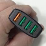 Chargeur 4 ports USB - Aukey CC-T9 - vue 02