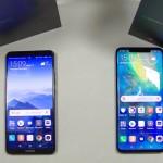 Comparatif Huawei Mate 20 Pro vs Huawei Mate 10 Pro - vue 01