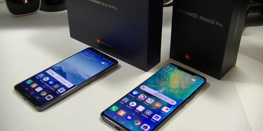 Comparatif Huawei Mate 20 Pro vs Huawei Mate 10 Pro : superbe évolution