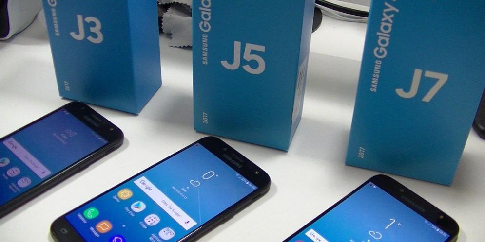 Méga-comparatif Samsung Galaxy J3 2017, J5 2017, J7 2017