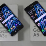 Comparatif Samsung Galaxy A3 2016 vs A5 2016 - vue 02