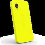 Coque antichoc Nexus 5 jaune