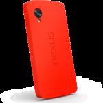 Coque antichoc Nexus 5 rouge
