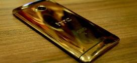 HTC One M8 : aussi en plaqué or