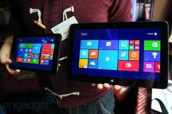 Dell Venue 8 Pro et 11 Pro : Tablettes Windows 8.1