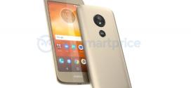 Motorola Moto E5 : un lecteur d'empreintes en plus