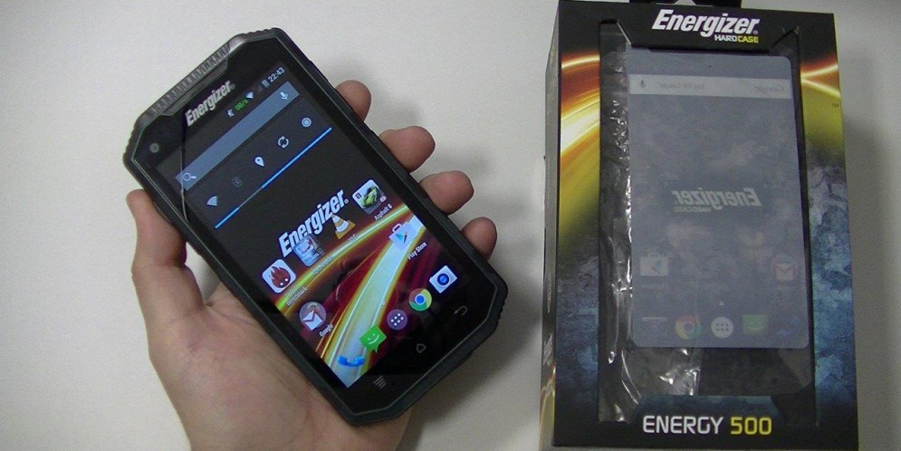 Test de l'Energizer Energy 500 : gros smartphone endurci
