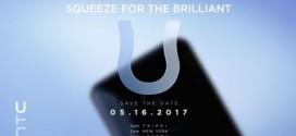 HTC U avec Edge Sense : c'est pour le 16 mai