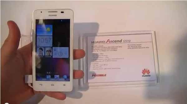Présentation du Huawei Ascend G510 – #MWC13