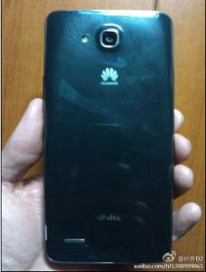 Huawei G750 - Arrière