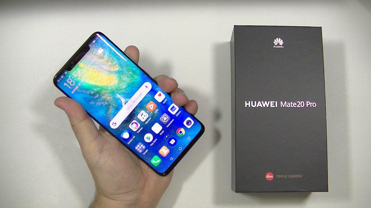 Test du Huawei Mate 20 Pro   le TOP des smartphones   Top For Phone a238855beb94