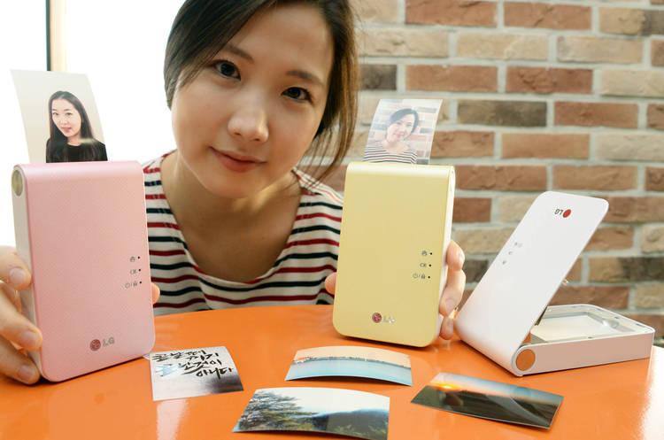 LG Pocket Photo 2.0 : Présentation