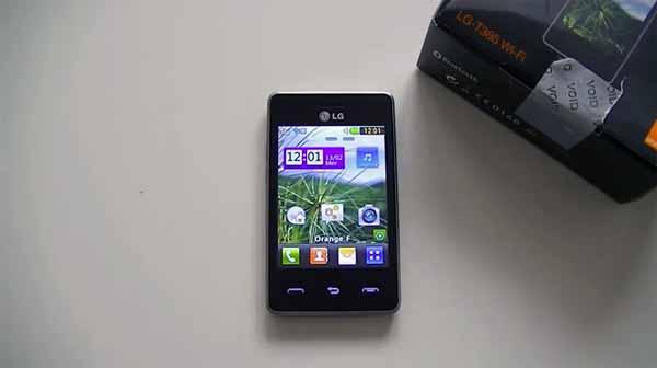 test du lg   mobile tactile tres entree de gamme