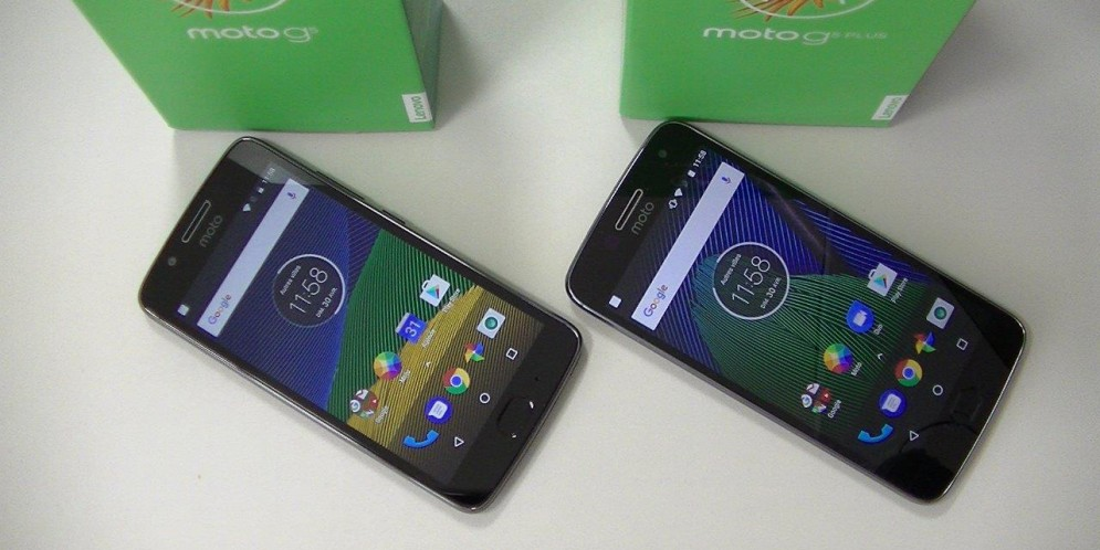 Comparatif Lenovo Moto G5 versus Lenovo Moto G5 Plus