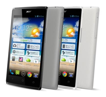 Acer Liquid Z5 Duo : Présentation