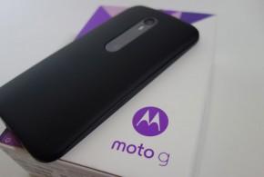 Motorola Moto G 2015 (3ème génération) : prise en main et déballage