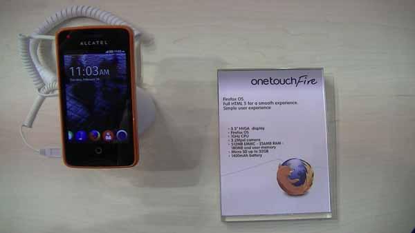 Présentation de l'Alcatel One Touch Fire – #MWC13