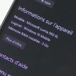 Microsoft Lumia 950 XL - vue 15