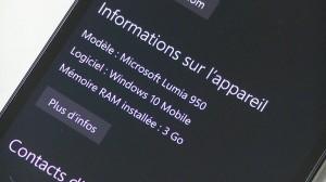 Microsoft Lumia 950 - vue 10