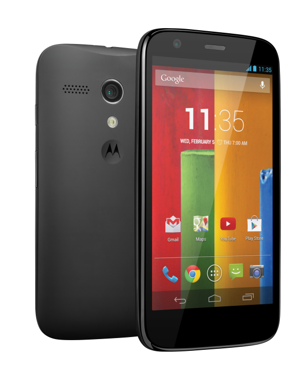 Motorola Moto G : Officialisation ! (maj II)