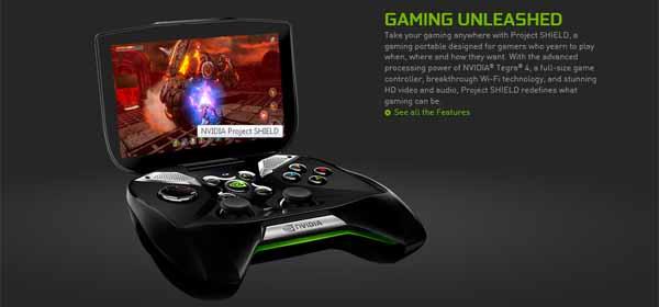 Nvidia Project Shield – annoncé au CES 2013