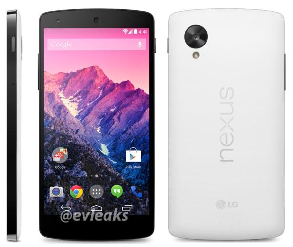 Nexus 5 : Une version blanche pour le 1er Novembre ?