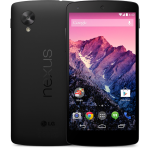 Nexus 5 Play Store Noir