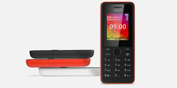 Nokia 106 : officialisation