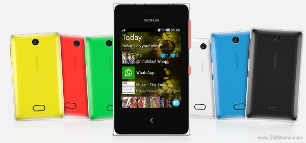 Nokia Asha 500, 502 et 503 : Présentation