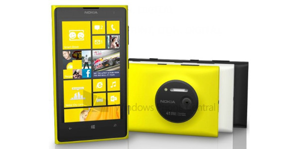 Nokia Lumia 1020 – visuel en fuite