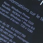 Nokia Lumia 1320 - vue 05
