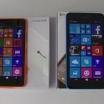 Nokia Lumia 60 et 640 XL -  vue  01