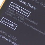 Nokia Lumia 640 -  vue 16