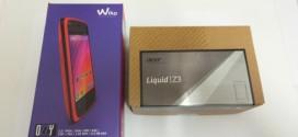 Wiko Ozzy vs Acer Liquid Z3 : deux entrées de gamme se rencontrent