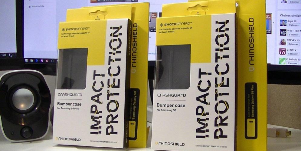 RhinoShield, l'ultime protection pour smartphone : S8 et S8 Plus