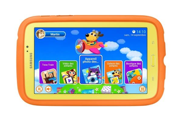 Samsung Galaxy Tab 3 Kids : une tablette pour les enfants et les adultes