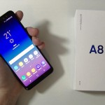 Samsung Galaxy A8 2018 - vue 01