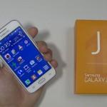 Samsung Galaxy J1 - test 01