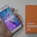 Samsung Galaxy J5 - vue 02