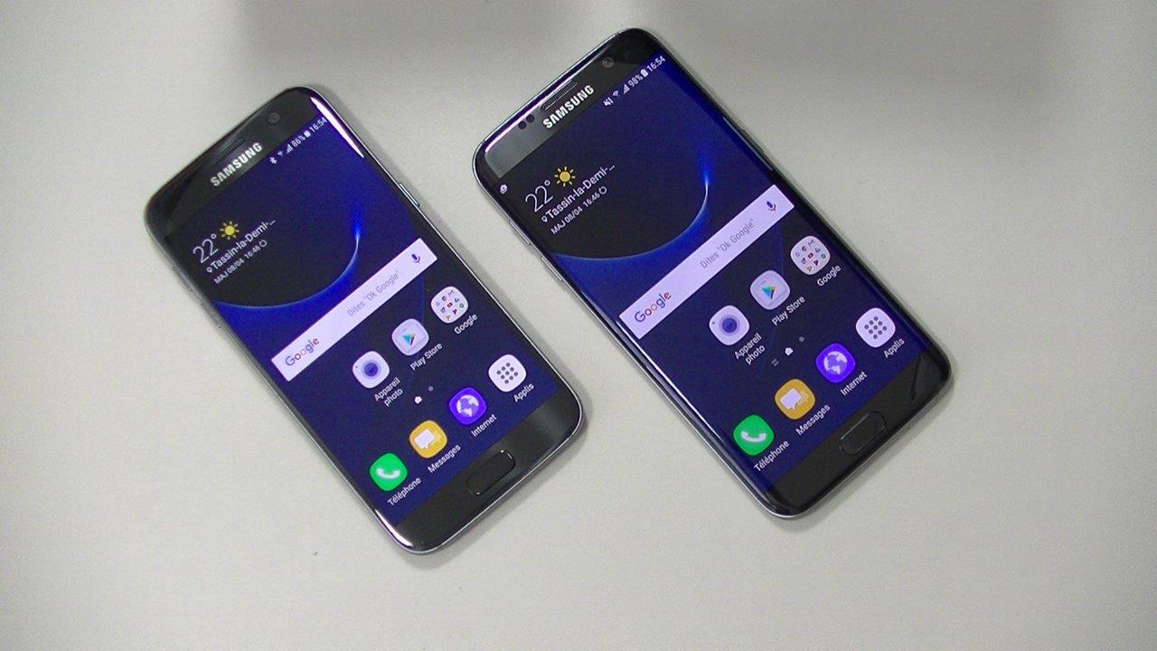 Comparatif Galaxy S7 Edge Vs Iphone X