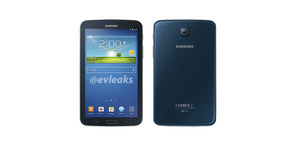 Samsung Galaxy Tab 3 7.0 : une version bleue